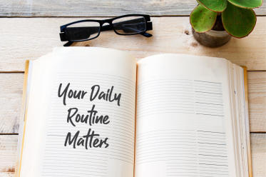 routine informative message example